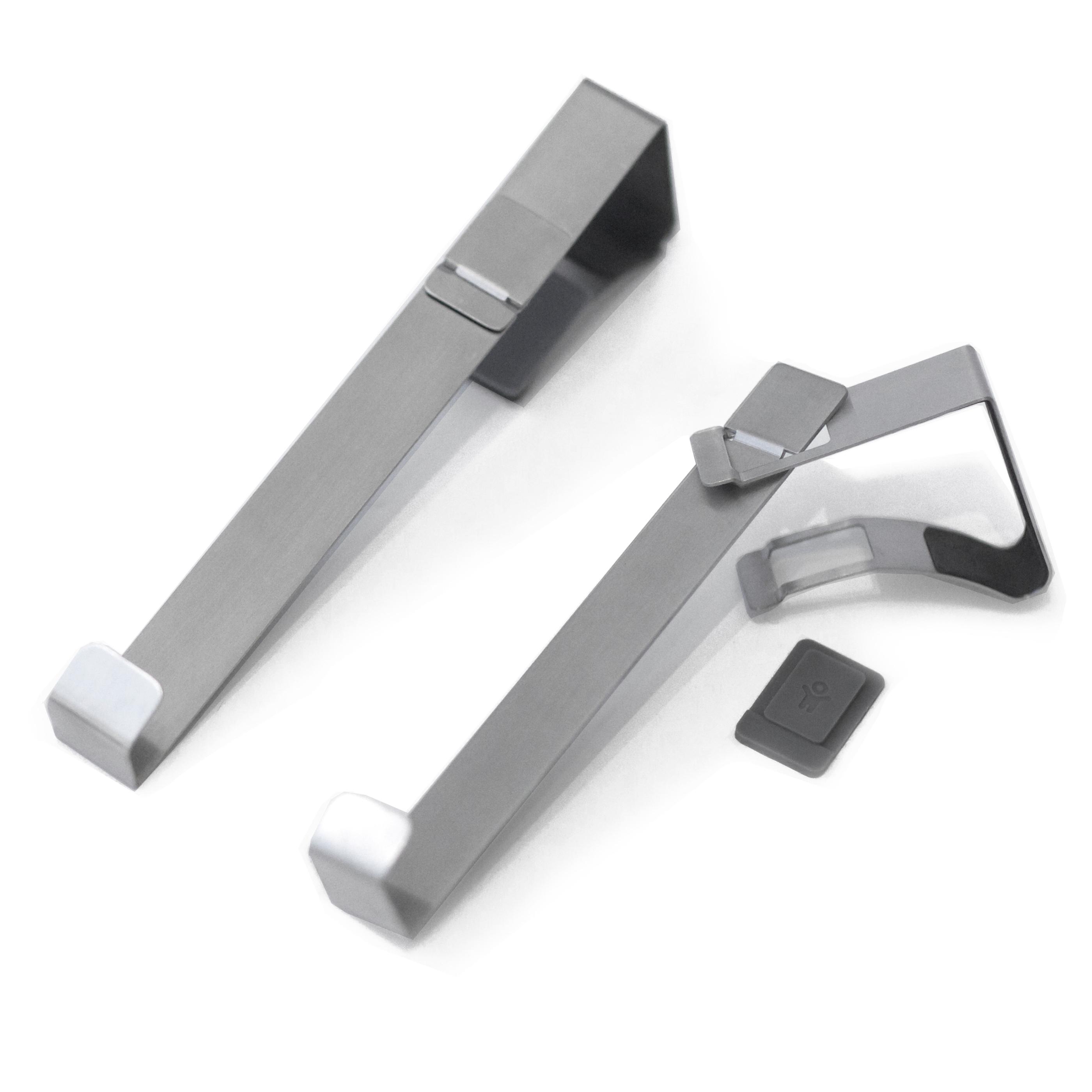 Hängareöver dörren Smart Hooks Enkelkrok Borstat rostfritt stål Bo