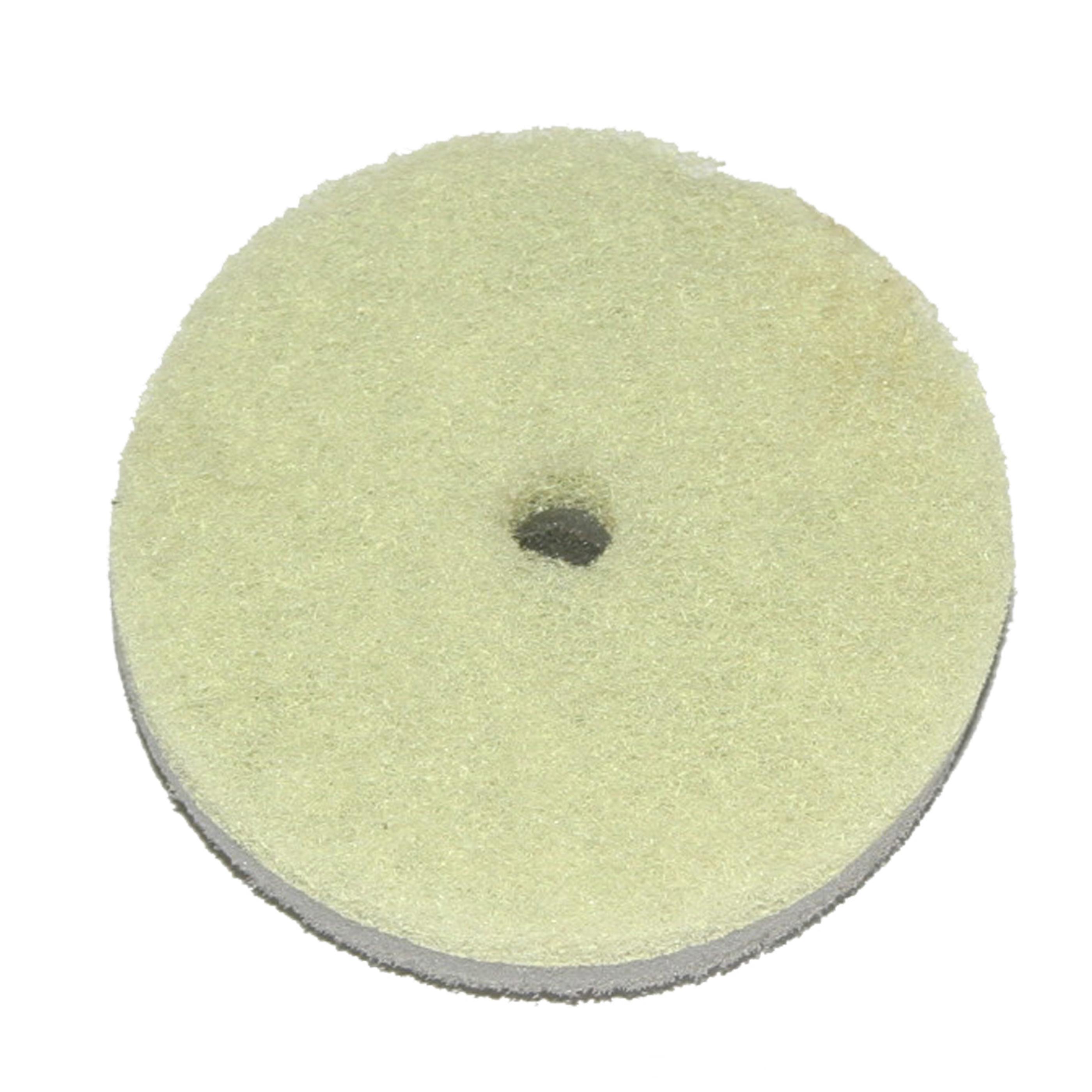 Disksvamp Round Lime Ljusgrå Bosign