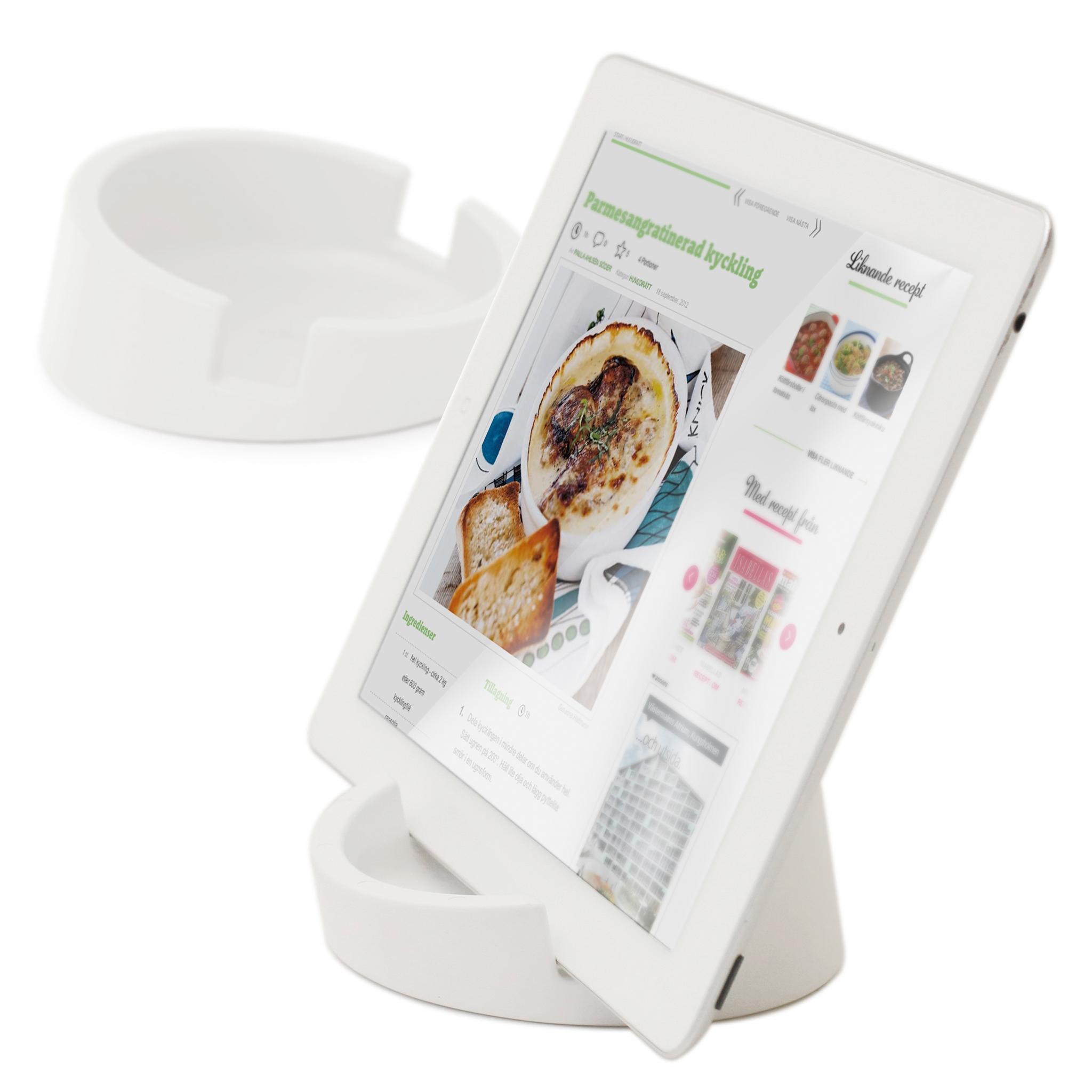iPad ställ Kitchen Tablet Stand Kokboksstöd för iPad ...