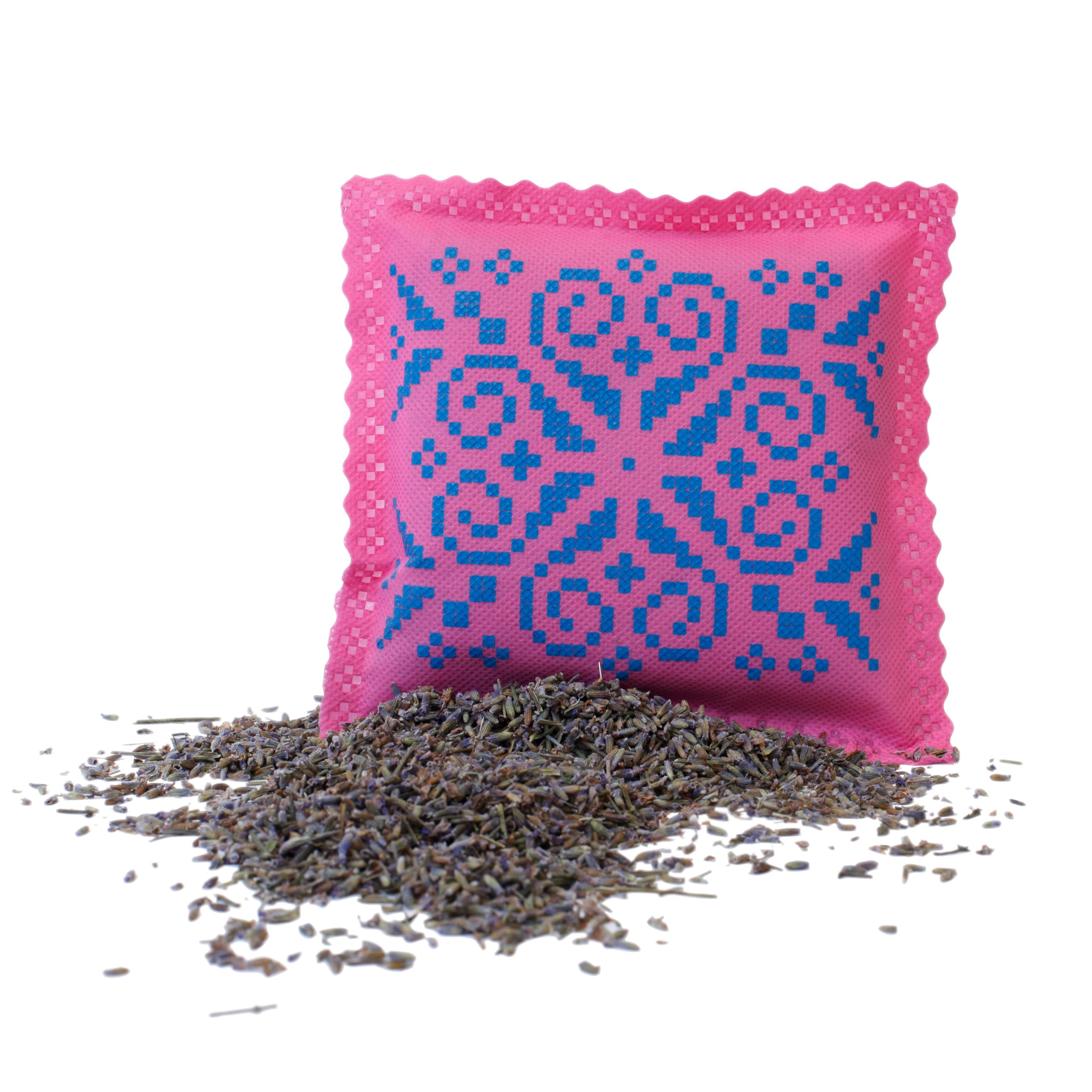 Ekologisk Doftpåse Rosa Blå Non vowen Lavender Bosign